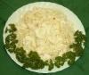 Weißkohl Würfel